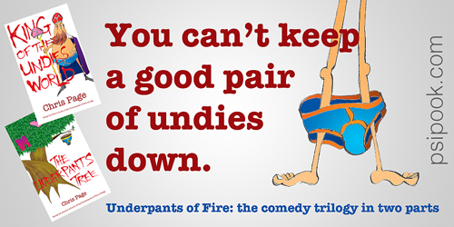 You can't keep a good pair of undies down