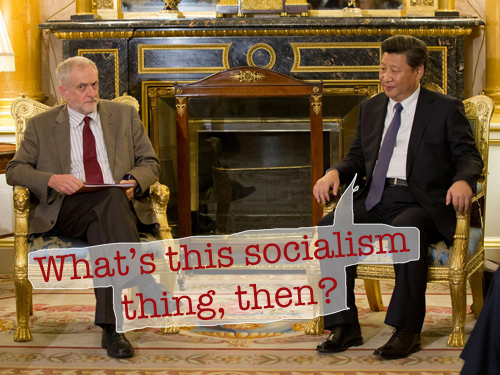 Corbyn and XI | Psipook